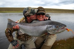 HOSTED SEA TROUT FISHING RIO GALLEGOS